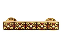 Emenee FAB1008-RG Parasol Cabinet Pull in Russian Gold (RG)