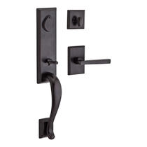 Baldwin Reserve Fairbanks Handleset (FAI) shown in Dark Bronze (481)