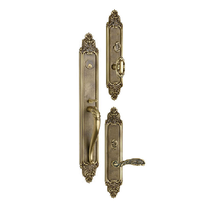 Omnia Georgica Entrance Handleset Shaded Bronze (SB)