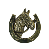 Brass Accents A07-K5030 Horse Knocker