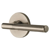 Baldwin Estate L015 Lever Set shown in Satin Nickel (150)