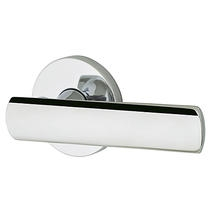 Baldwin Estate L016 Lever Set wshown in Polished Chrome (260)