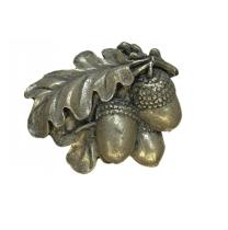 Emenee LU1234 Acorn Cabinet Knob in Aged Brass (AGB)