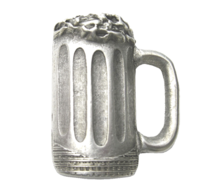 Emenee LU1283 Beer Mug Cabinet Knob in Warm Pewter (WPE)