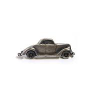 Emenee MK1088 Car Cabinet Knob in Antique Matte Brass (ABR)