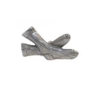 Emenee MK1110 Socks Cabinet Knob in Antique Matte Silver (AMS)
