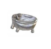Emenee MK1114 Bath Tub Cabinet Knob in Antique Matte Silver (AMS)