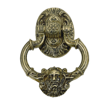 Brass Accents Neptune Knocker