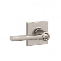 chlage F40-LAT-COL Latitude Privacy Door Lever Set with Collins Rose