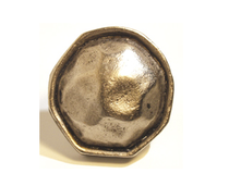 Emenee OR347 Hammered Rim with Edge Cabinet Knob