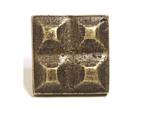 Emenee OR349 Sculpted Square Cabinet Knob