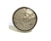 Emenee OR359 Small Hammered Circle Edge Cabinet Knob
