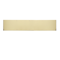 "Brass Accents Kick Plate 6"" x 40"""