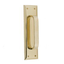 Brass Accents Quaker Pull Plate