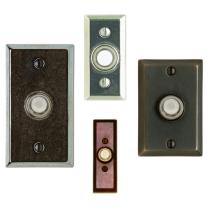 Rocky Mountain Rectangular Door Bell Button