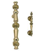 Brass Accents Rope Cabinet Pull