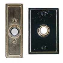 Rocky Mountain Stepped Door Bell Button