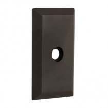 Nostalgic Warehouse Studio Short Plate Passage Function Oil Rubbed Bronze (OB)