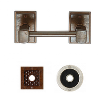 Rocky Mountain Tempo Horizontal Toilet Paper Holder TP3 (Designer Escutcheon)