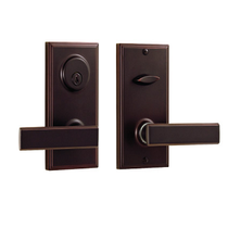 Weslock Woodward 1502 Unigard Handleset with Utica lever Oil Rubbed Bronze