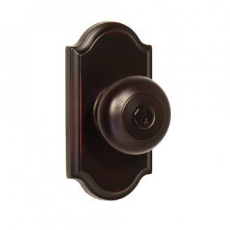 Weslock 1740I Keyed entry with Premiere Rose Oil Rubbed Bronze