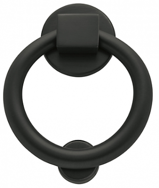Baldwin 0195 Ring Knocker in Oil Rubbed Bronze (102)