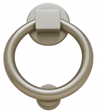Baldwin 0195 Ring Knocker in Satin Nickel (150)