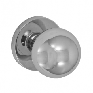 Fusion Cast Stainless Steel 3060 Door Knob Contemporary Rose PSS