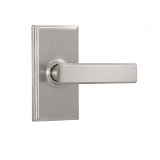Weslock 3700P Utica Passage Satin Nickel