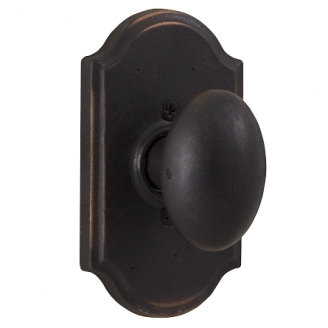 Weslock Durham 7105M Dummy with Premiere Rose Oil Rubbed Bronze
