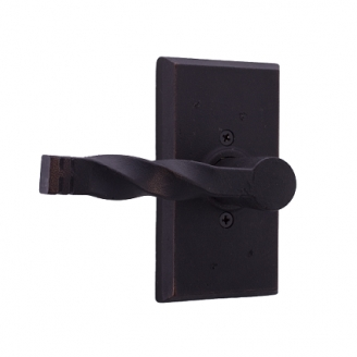 Weslock 7305N Monoghan Dummy Lever with Square Rose Oil Rubbed Bronze