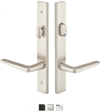 Emtek Door Configuration 3 Brass Modern Style Multi Point