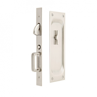 Emtek 2103 Keyed Pocket Door Lock Lowpricedoorknobs Com