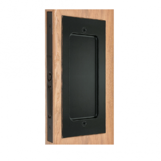 Emtek 2114 Modern Rectangular Passage Pocket Door Mortise