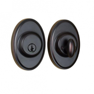 Weslock 2771 Oval Single Cylinder Oil Rubbed Bronze (10B)