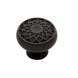 Baldwin 4636 Couture Collection Cabinet Knob in Venetian Bronze