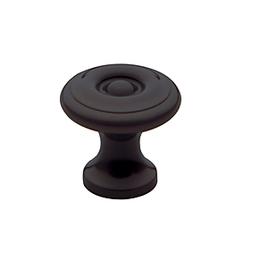 Baldwin Colonial Cabinet Knob (4650, 4655, 4660) shown in Venetian Bronze (112)