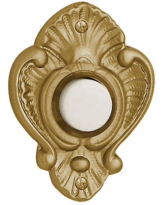 Baldwin 4857 Victorian Bell Button in Vintage Brass (033)