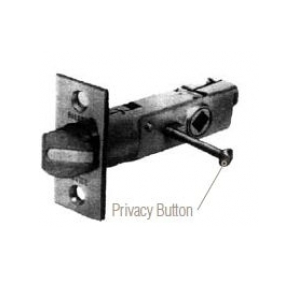 Baldwin Estate 5513.P Lever Strength Privacy Latch with 2-3/8