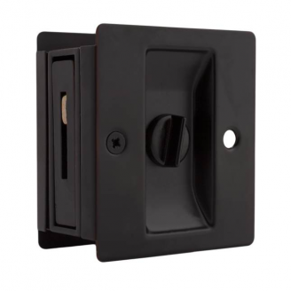 Weslock 577 Privacy Pocket Door Lock Oil Rubbed Bronze