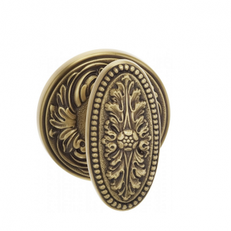 Omnia Classico Collection 059FL Knob Latchset Siena Brass (BAS)