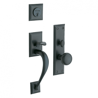 Baldwin Estate 6571 Concord Mortise Handleset Oil Rubbed Bronze (102)