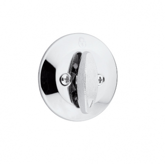 Kwikset 667 One Sided Deadbolt with Exterior Plate