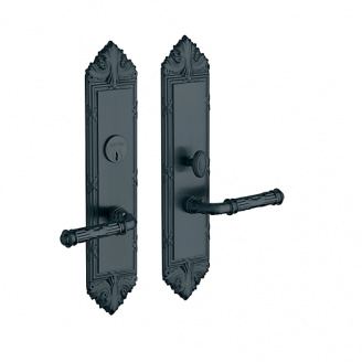 Baldwin Estate 6962 Fenwick Mortise Entrance Set in Oil Rubbed Bronze