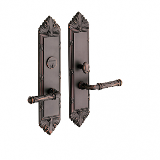 Baldwin Estate 6962 Fenwick Mortise Entrance Set in Venetian Bronze