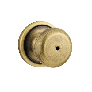 Kwikset 730H Privacy 5 Antique Brass