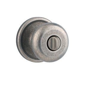 Kwikset 730H Privacy 502 Rustic Pewter
