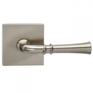Omnia 785SQ-15 Traditional Door Lever Set with Square Rose