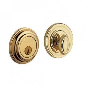 Baldwin 8231 Single Cylinder 031 Non-lacquered Brass