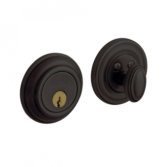 Baldwin 8231 Single Cylinder 402 Distressed Oil Rubbed Bronze
